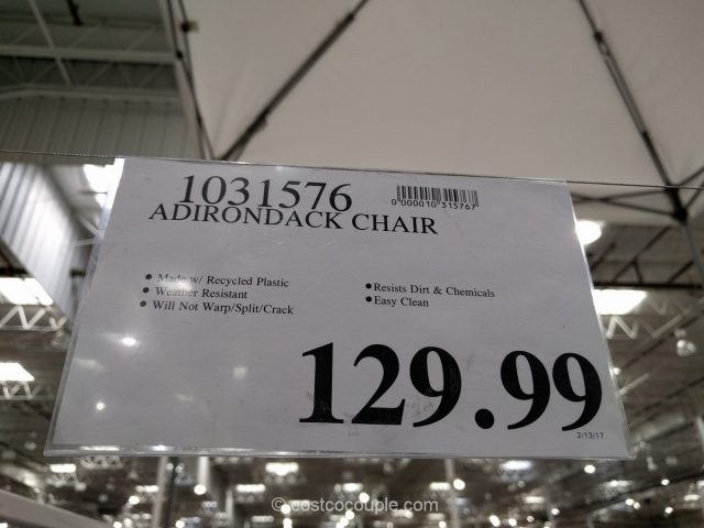 Leisure Line Classic Adidonrack Chair Costco 1