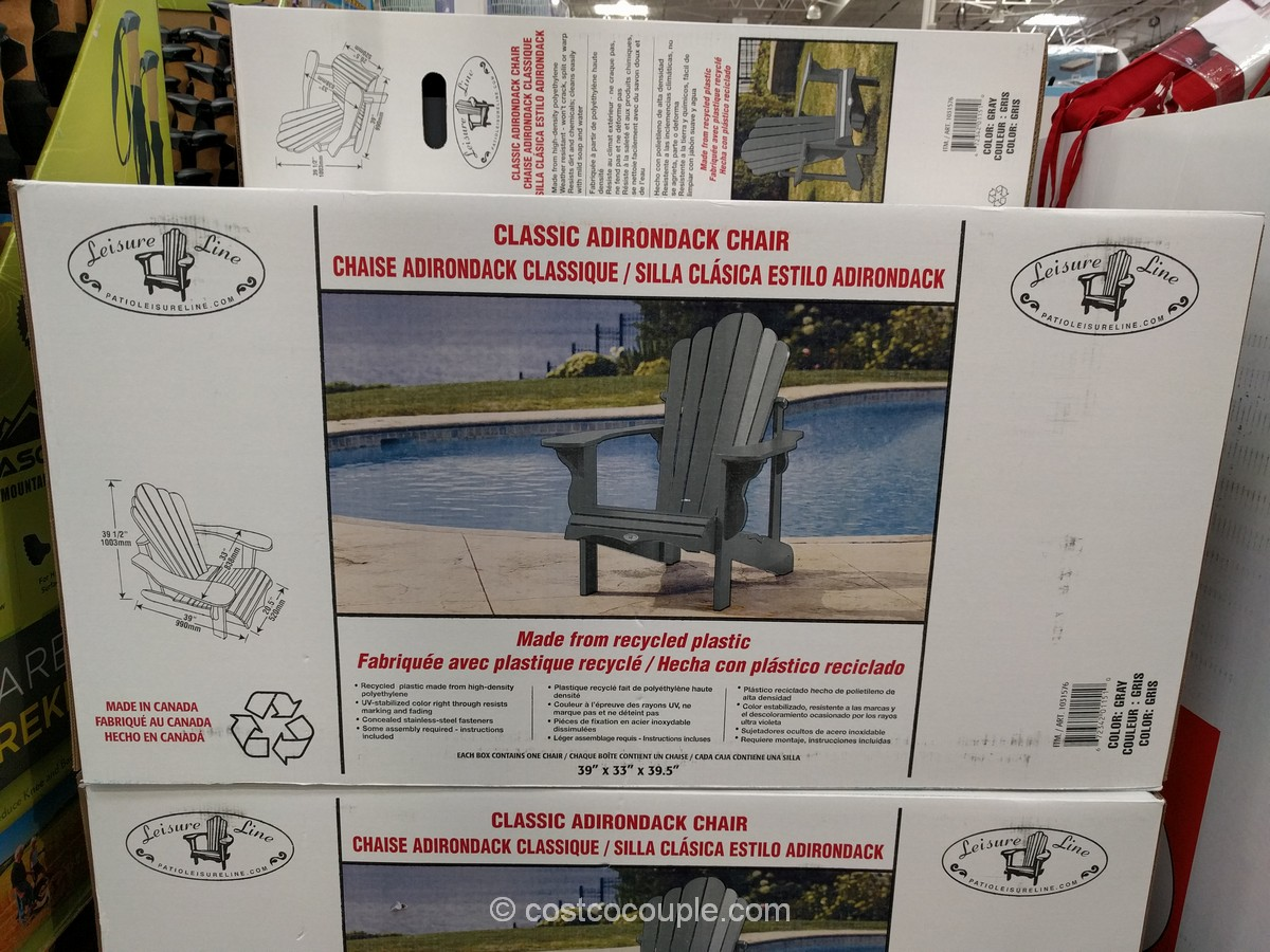 Leisure Line Classic Adidonrack Chair Costco 6