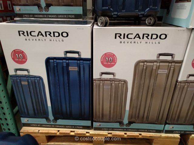 Ricardo Mammoth 2-Piece Hardside Spinner Set Costco 2