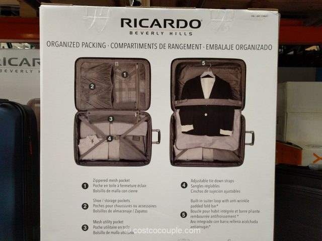 Ricardo Mammoth 2-Piece Hardside Spinner Set Costco 4