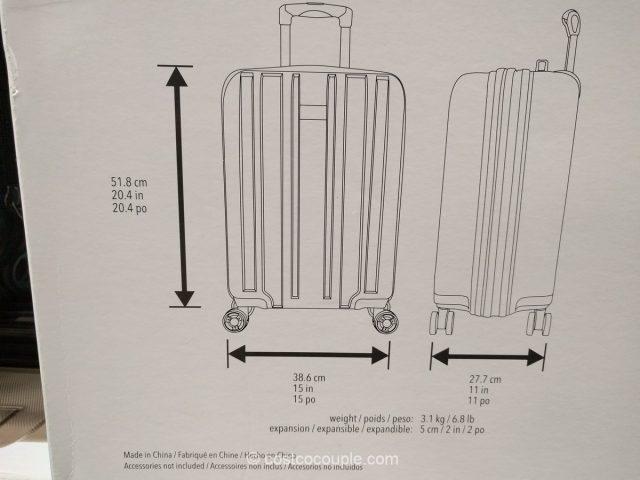 Ricardo Mammoth 2-Piece Hardside Spinner Set Costco 6