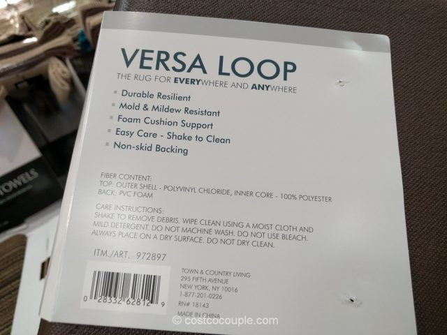 Town and Country Versa Loop Rug Costco 4