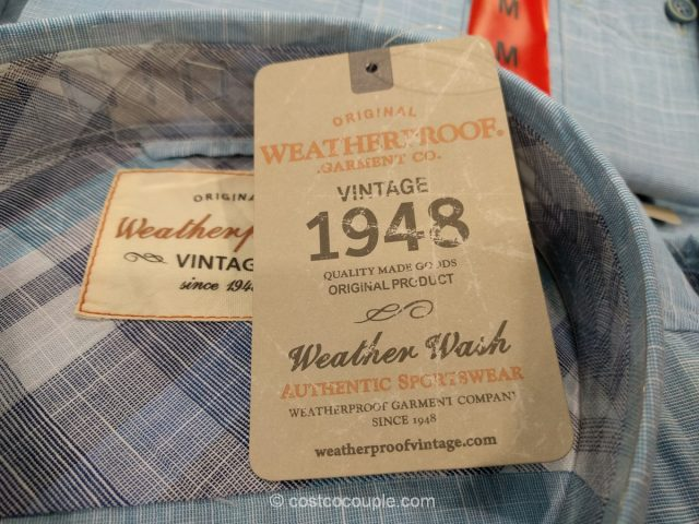 Weatherproof Vintage Mens Shirt Costco 4