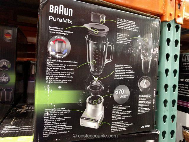 Braun Puremix Jug Blender Costco