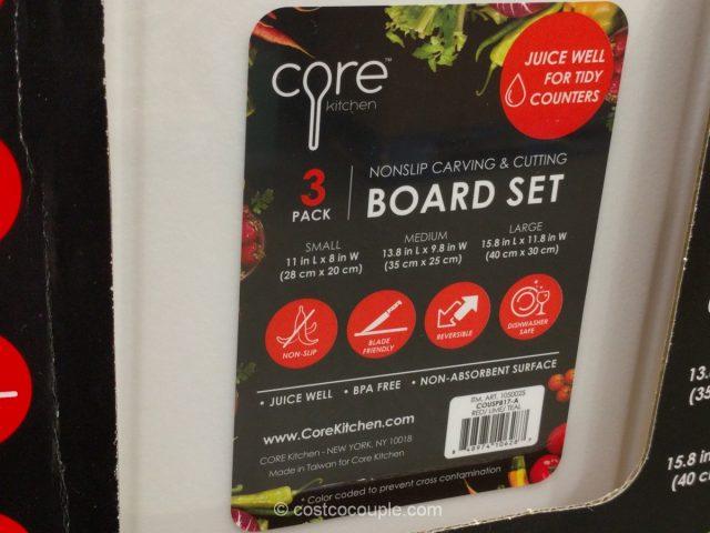 Core Kitchen 3-Pack Cutting Board Costco