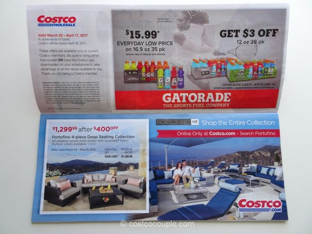 Costco March 2017 Coupon Book