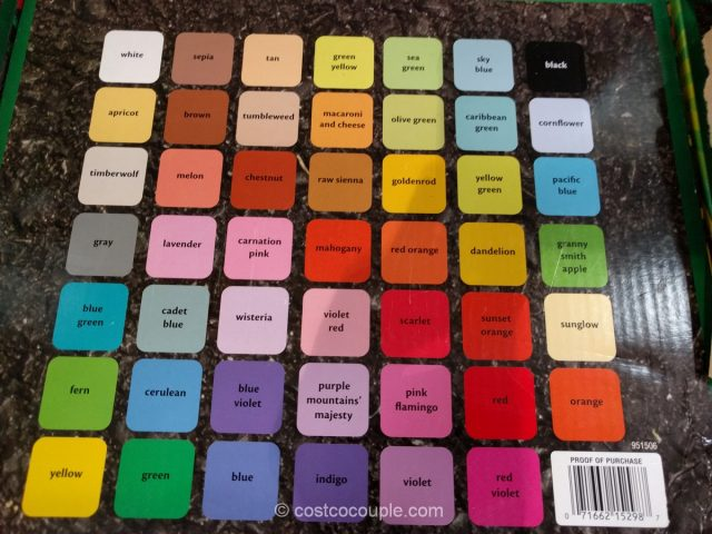 Crayola Sidewalk Chalk Costco 5