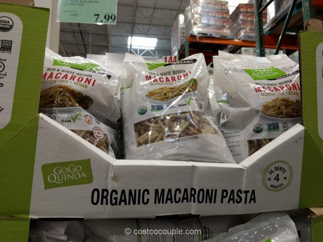 Gogo Organic Quinoa Macaroni Costco