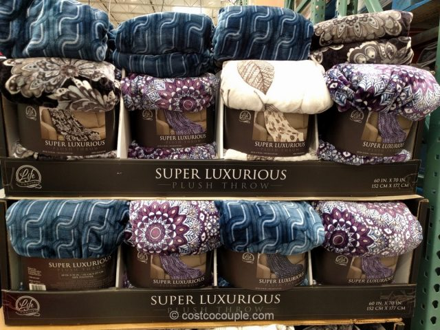 Life Comfort Super Luxurious Plus Throw Costco