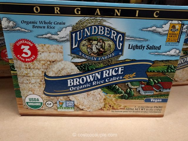 Lundberg Farms Organic Brown Rice Cakes Costco