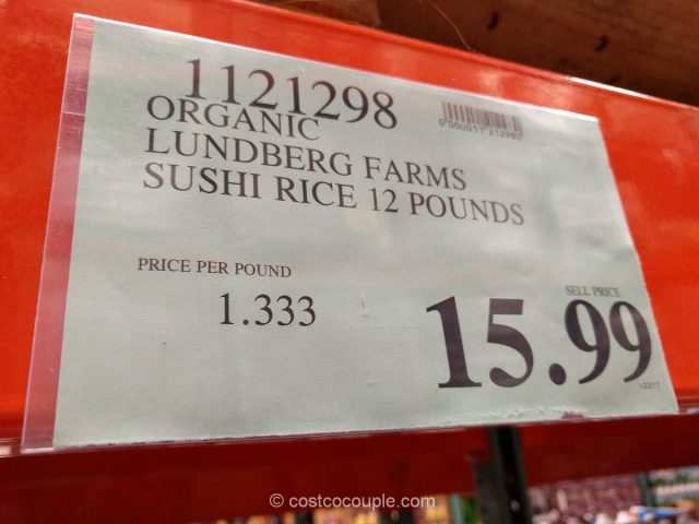 Lundberg Farms Organic Sushi Rice Costco