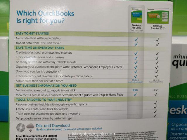 Quickbooks 2017 Desktop Pro Costco