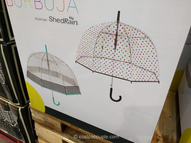 Shedrain Bubble Umbrella Costco
