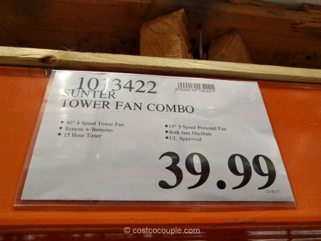 Sunter Tower Fan Combo Costco 1