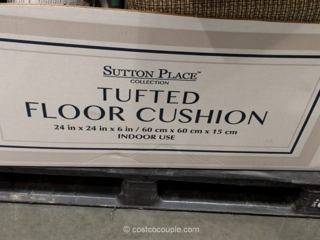 Sutton Place Tufted Floor Cushion Costco