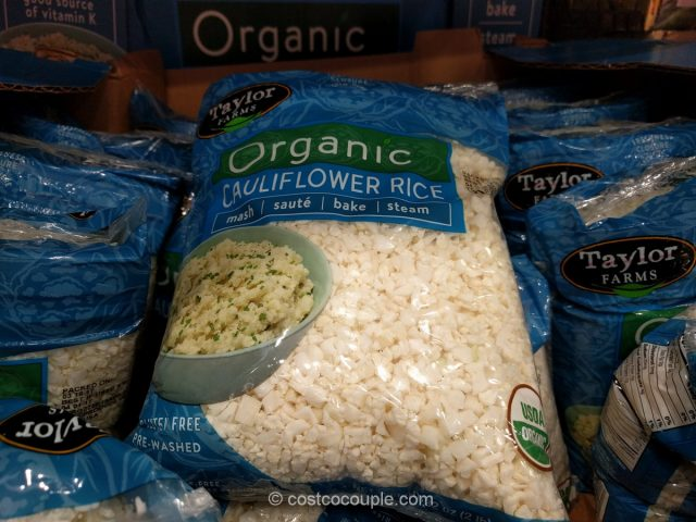 Taylor Farms Organic Cauliflower Rice Costco