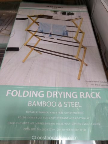 Vanderbilt Folding Drying Rack Costco