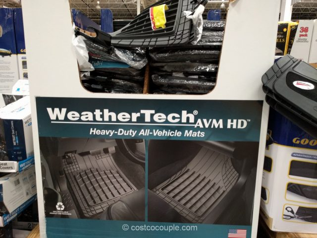 WeatherTech Heavy-Duty Car Mats Costco
