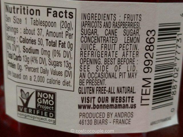 Bonne Maman Apricot Raspberry Preserves