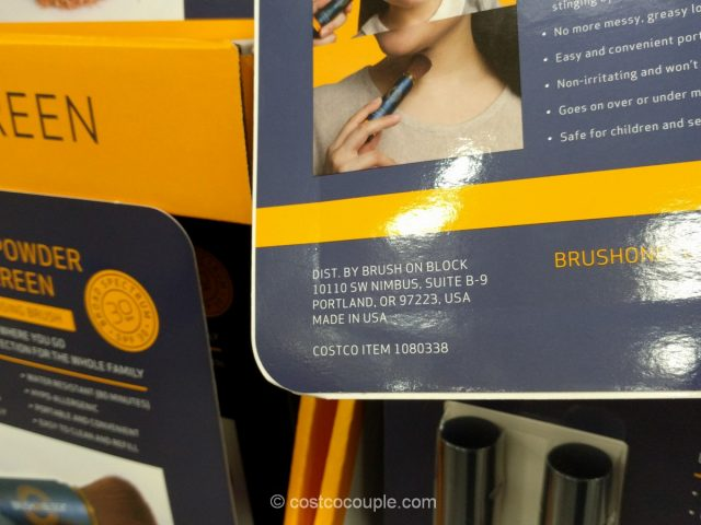Brush On Mineral Powder Sunscreen Costco