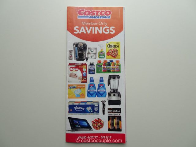 Costco May 2017 Coupon Book 1