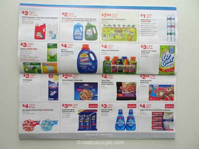 Costco May 2017 Coupon Book 9