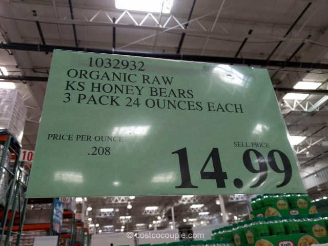 Kirkland Signature Organic Raw Honey Costco