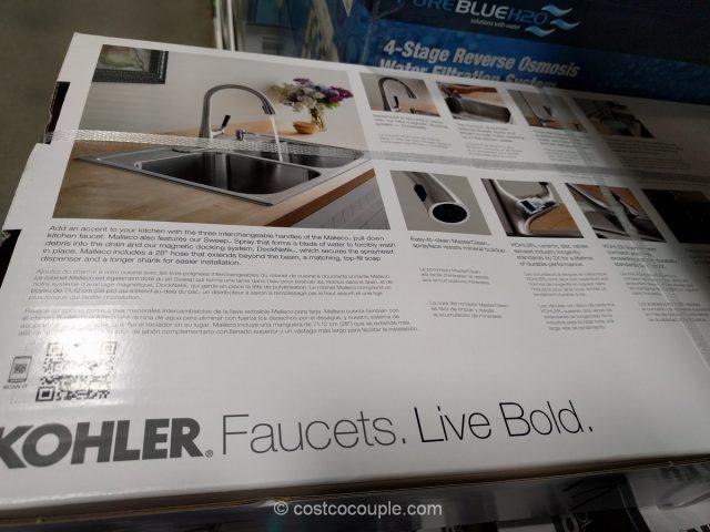 Kohler Malleco Pull-Down Kitchen Faucet Costco