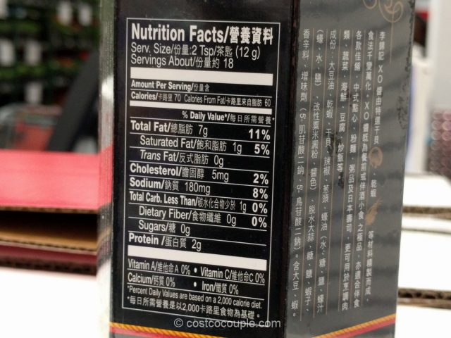 Lee Kum Kee XO Sauce Costco