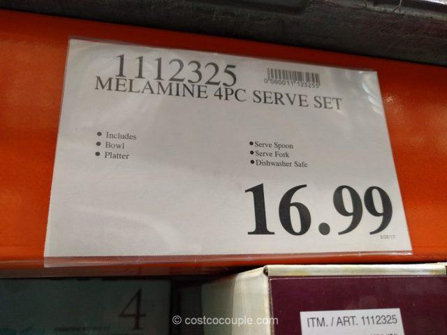Melamine 4-Piece Serving Set Costco