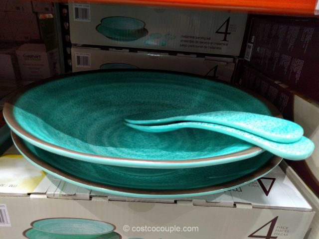 Melamine 4-Piece Serving Set Costco