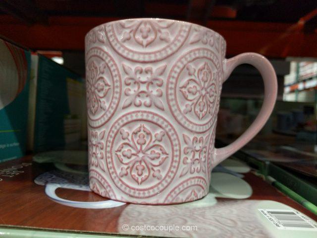 Mikasa Stoneware Mug Set Costco
