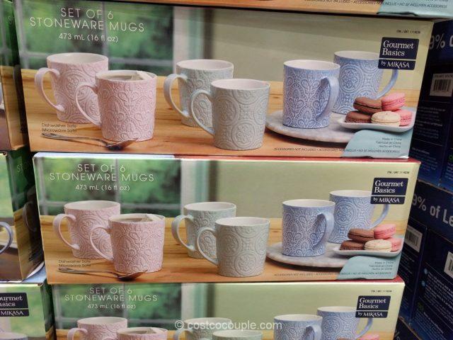 Mikasa Stoneware Mug Set