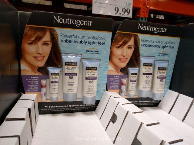 Neutrogena Ultra Sheer Sunscreen Set Costco