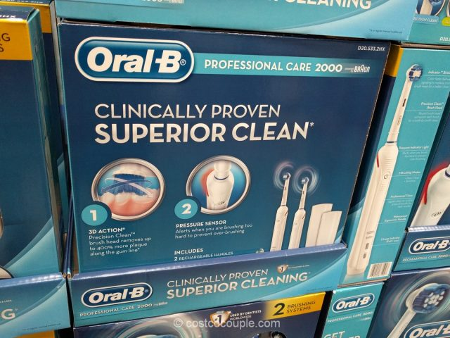 Oral-B Professional Care 2000 Costco