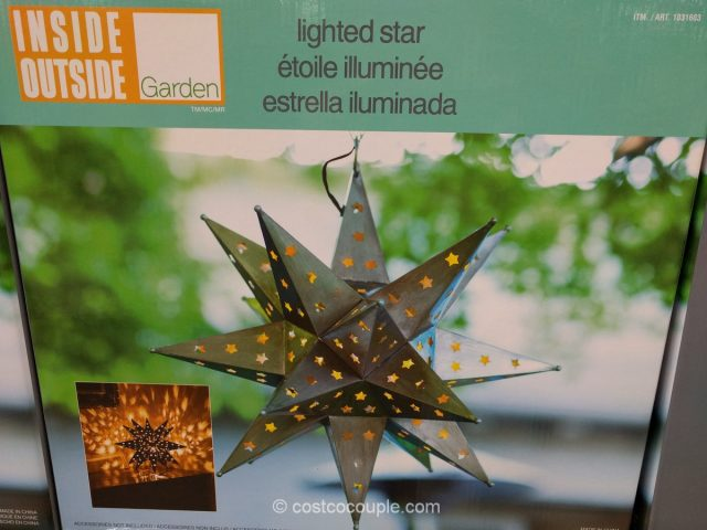 Outdoor LED Star Light Costco