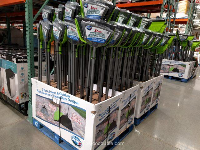 Reynera Industrial Indoor Outdoor Broom Set Costco