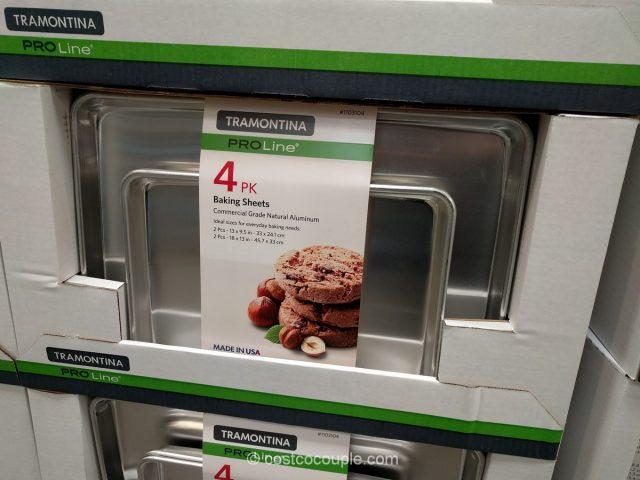 Tramontina 4-Pack Baking Sheets Costco