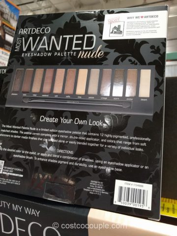 ArtDeco Most Wanted Eyeshadow Palette Costco