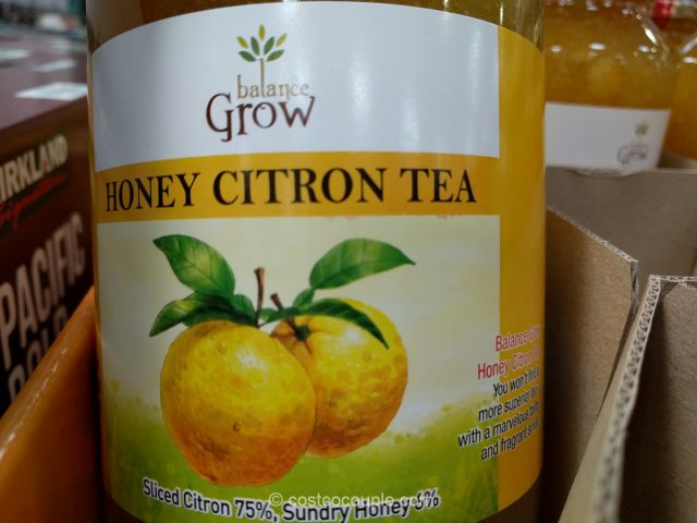 Balance Grow Honey Citron Tea Costco