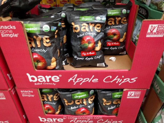 Bare Foods Organic Apple Chips Costco