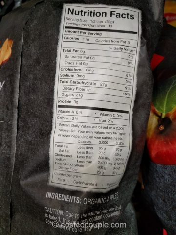 Bare Foods Organic Apple Chips