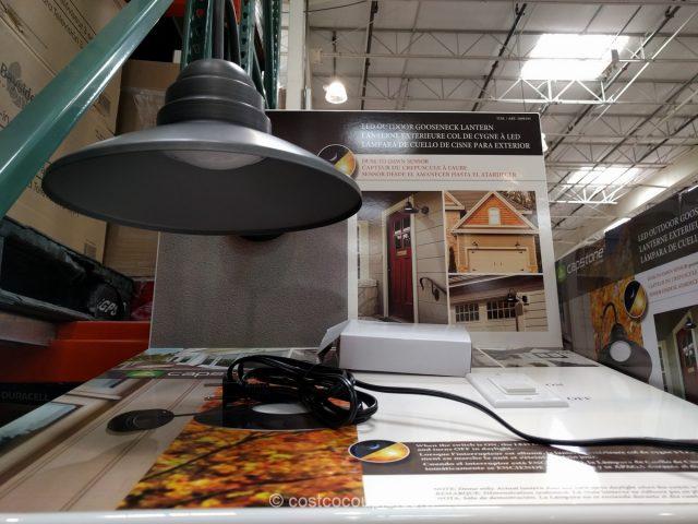 Capstone Outdoor Gooseneck Lantern Costco