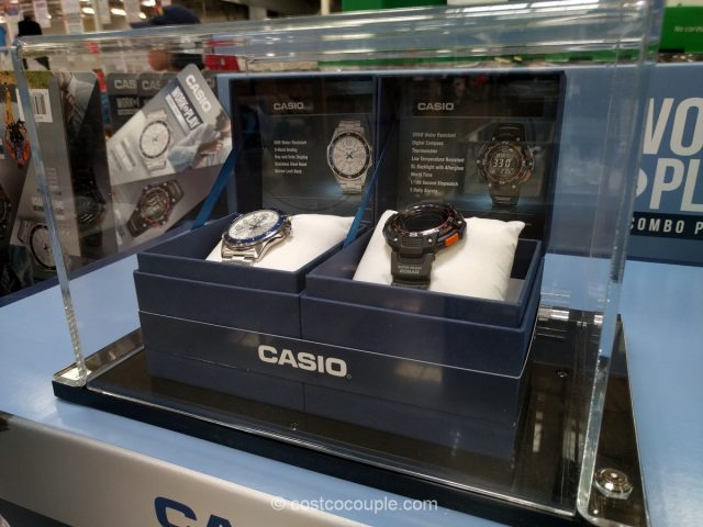 Casio Work and Play Watch Set Costco
