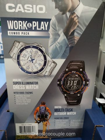 Casio Work And Play Watch Set