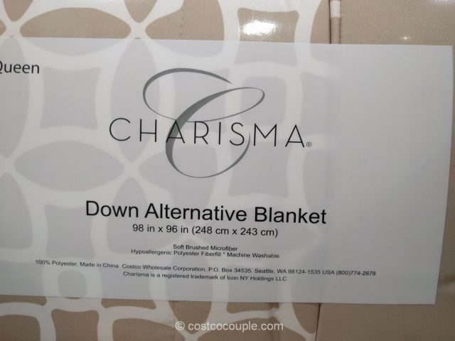 Charisma Down Alternative Blanket Costco