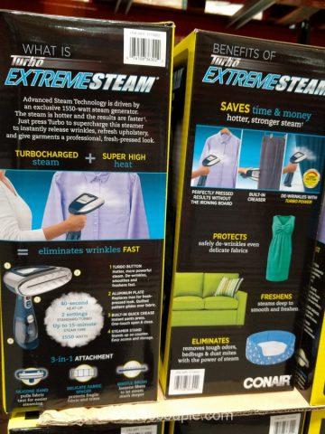 Conair Turbo Extreme Steam Handheld Steamer Costco