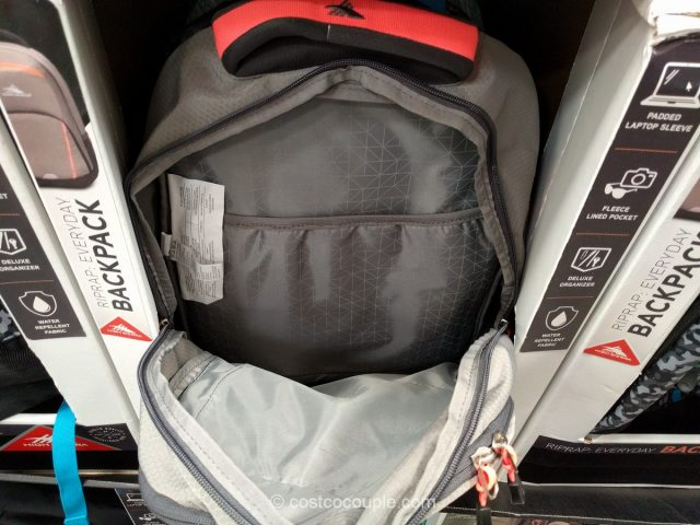 High Sierra RipRap Backpack Costco