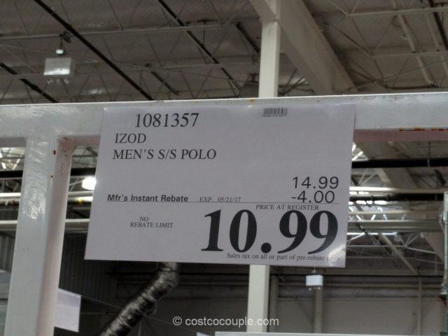 Izod Men's Polo Costco