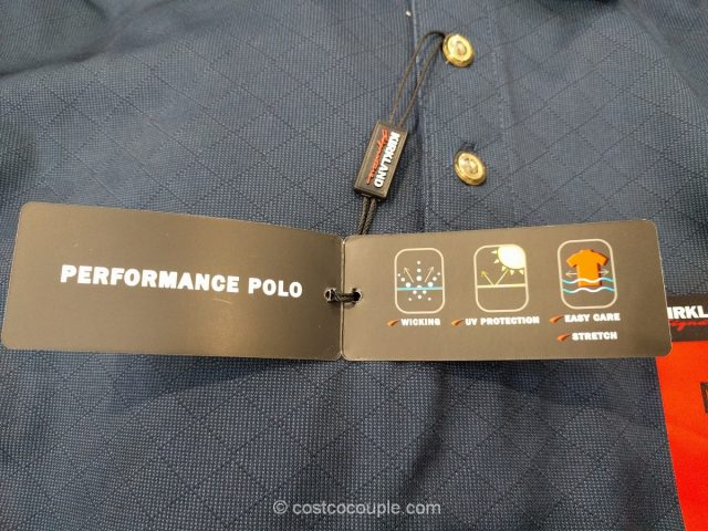 Kirkland Signature Men's Performance Polo Costco